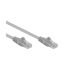 CAVO PATCH UTP CAT. 5 CON 2 SPINE RJ45 2MT GRIGIO