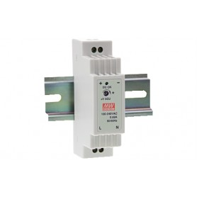 ALIMENTATORE DIN SWITCHING 24V 0,63A