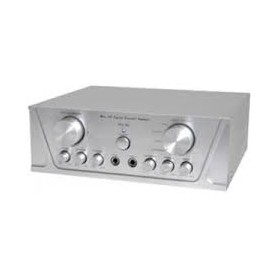AMPLIFICATORE STEREO 2X50W + 3 ING. LINE+ 2 ING. M