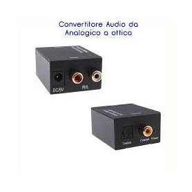 CONVERTITORE AUDIO DA ANALOGICO A DIGITALE RCA TOS