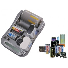 TESTER BATTERY UNIVERSALE CON INDICATORE DIGITALE