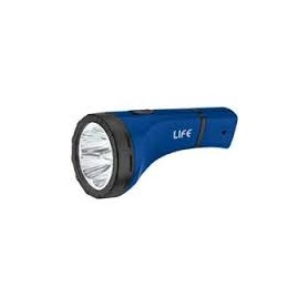 TORCIA CON 5 LED BIANCHI RICARICABILE A220V