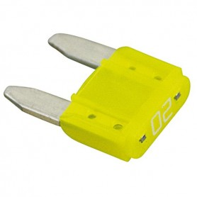 FUSIBILE A LAMA MINI 11.2MM 20A GIALLO
