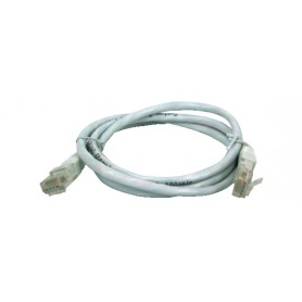 CAVO PATCH FTP CAT. 5 CON 2 SPINE RJ45 0.5mt GRIGI