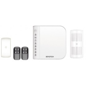 KIT ANTIFURTO WIRELESS CON COMBINATORE TELEFONICO