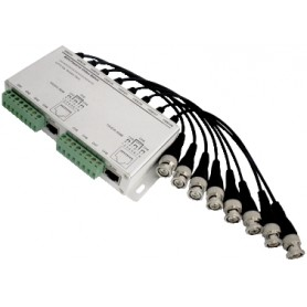 VIDEO BALUN 8 CH SPINA BNC PER TRASMISSIONE VIDEO