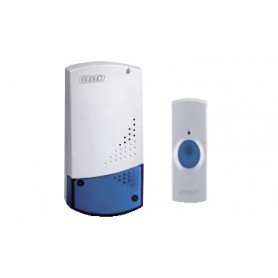 CAMPANELLO SENZA FILI WIRELESS CON PULSANTE IP44 E