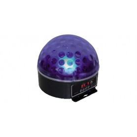 EFFETTO SPECIALE LED DJ BALL DMX 30W 6 LED RGB