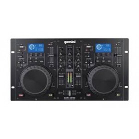 CONSOLLE GEMINI CD MIXER DJ MP3 USB + USCITA AUDIO