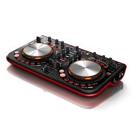 CONSOLLE CON 2 LETTORI CD MP3+USB+SD MIXER 2 CANAL