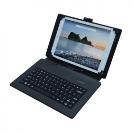 CUSTODIA CON TASTIERA PER TABLET 10""