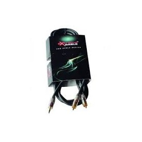 CAVO AUDIO 1 SPINA JACK 3,5mm ST. 2 SPINE RCA 2mt