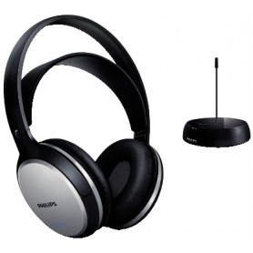 CUFFIA WIRELESS RADIOFREQUENZA HI-FI STEREO PHILIP