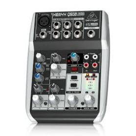 MIXER AUDIO STEREO 5 CH 1 ING. MIC. + 4 ING. LINE