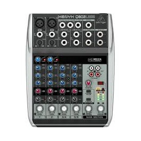 MIXER AUDIO STEREO 4 CH 2 ING. MIC.+4 ING. LINE US