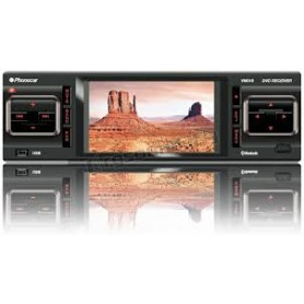 AUTORADIO CD-MP3MPEG4-DVX-USB-TV-BLUETOOTH+ MONITO