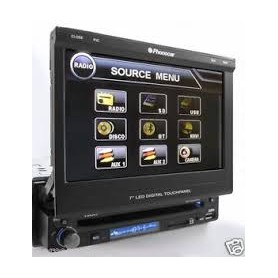 AUTORADIO CON LETTORE CD+DVD+DVX+MP3+USB PHONOCAR
