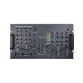 MIXER AUDIO STEREO CON USB 9 CH. 4 ING. LINE 5 ING