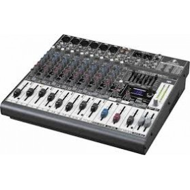 MIXER AUDIO STEREO 6 CH 6 ING. MIC.+12 ING. LINE C