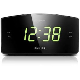 RADIOSVEGLIA FM PHILIPS CON DISPLAY LCD VERDE
