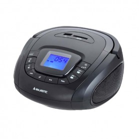 RADIO REGISTRATORE CON LETTORE MP3+USB+SD MAJES