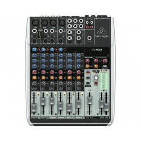 MIXER AUDIO STEREO 12 CH 4 ING. MIC. 8 ING. LINE
