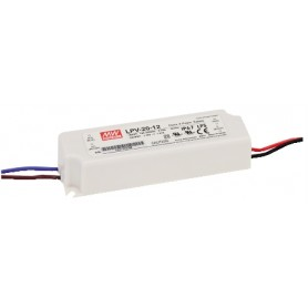 ALIMENTATORE SWITCHING 12V 1,67A 20W IP67 LPV20-12