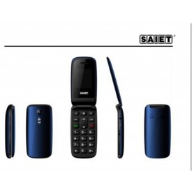 TELEFONO CELLULARE GSM SAIET LIKE ST-MC10 BLU