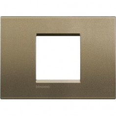 PLACCA LIVING LIGHT 2 MODULI CENTRATI SQUARE