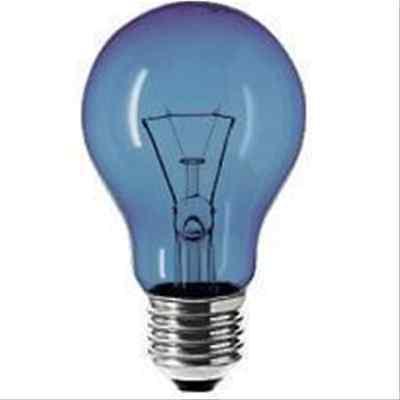 Lampadina ad incandescenza Leuci E27 100W goccia solare 750 lm Made in Italy.