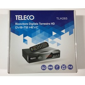 DECODER DIGITALE TERRESTRE HD DVB-T2 HEVC