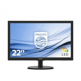 MONITOR LCD W-LED 21.5 NERO PHILIPS