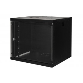 "ARMADIO RACK A MURO 19"" 9 UNITÀ 485X540X450MM NERO"