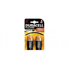 1/2 TORCIA ALKALINA DURACELL PLUS POWER BL 2PZ