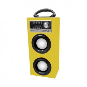 MINI CASSA AMPLIFICATA CON RADIO E USB-SD-MP3-AUX