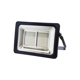 FARETTO SLIM 100W NERO IP65 LED SMD LUCE NATURALE