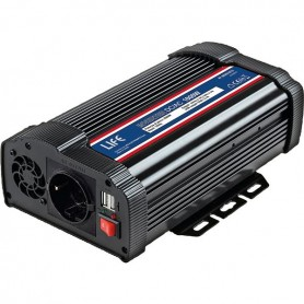 INVERTER DC/AC SOFT-START 1000W 12VDC C/ PORTA USB