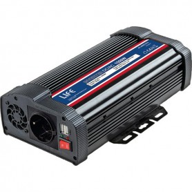 INVERTER DC/AC SOFT-START 1500W 12VDC C/ PORTA USB