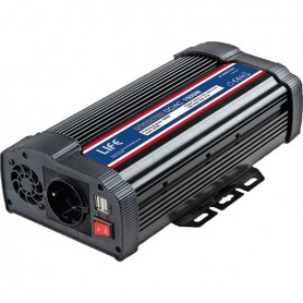 INVERTER DC/AC SOFT-START 1500W 24VDC C/ PORTA USB
