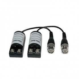 VIDEO BALUN PASSIVO 1 CH PER CAVO CAT 5/6 COAX CP.