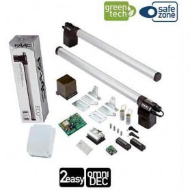 KIT PER CANCELLO A BATTENTE ECO GREEN 230V