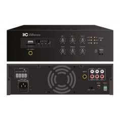 AMPLIFICATORE PA 120W 5 ZONE 70/100V CON