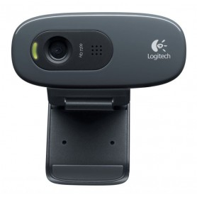 WEBCAM LOGITECH 3 MPX HD CON MICROFONO INCORPORATO