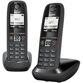 TELEFONO CORDLESS DECT CON VIVAVOCE AS405 DUO
