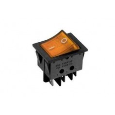 INTERRUTTORE SWITCH ON/OFF 4P 16A 250Vac LUMINOSO