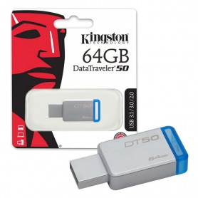 PEN DRIVE USB 64GB DT50 3.0/3.1 KINGSTON
