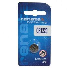 BATTERIA BOTTONE LITIO 3V 35 MAH CR1220 RENATA