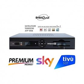 DECODER SAT+DVB-T FULL HD PVR COMBO + APP WEB
