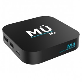 SMART TV BOX ANDROID 4K IP WIFI/LAN USB