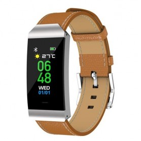 FITNESSBAND C/BLUETOOTH 4.0 MARRONE DENVER